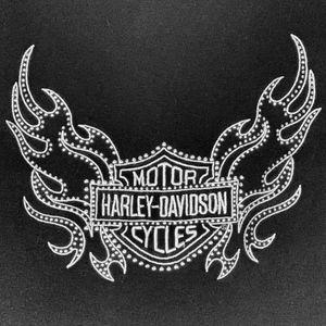 Harley-Davidson Motor Cycles Sweatshirt Zip Hoodie